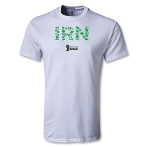 Iran 2014 FIFA World Cup Brazil(TM) Men's Elements T-Shirt (White)