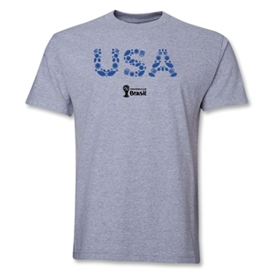 USA 2014 FIFA World Cup Brazil(TM) Elements T-Shirt (Gray)