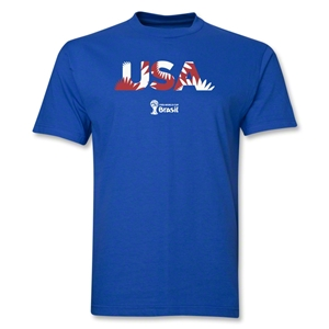 USA 2014 FIFA World Cup Brazil(TM) Palm T-Shirt (Royal)