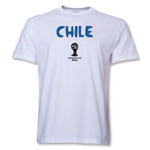 Chile 2014 FIFA World Cup Brazil(TM) Core T-Shirt (White)