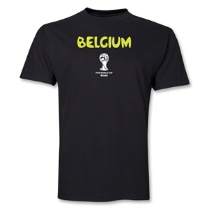 Belgium 2014 FIFA World Cup Brazil(TM) Core T-Shirt (Black)