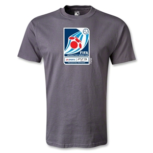 FIFA Interactive World Cup Emblem T-Shirt (Dark Gray)