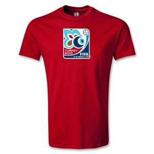 FIFA U-20 World Cup Turkey 2013 Emblem T-Shirt (Red)