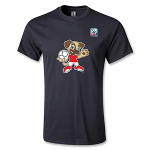 FIFA Men's U20 World Cup 2013 Mascot T-Shirt (Black)