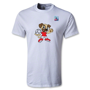 FIFA Men's U20 World Cup 2013 Mascot T-Shirt (White)