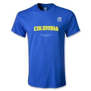 FIFA U-20 World Cup 2013 Colombia T-Shirt (Royal)
