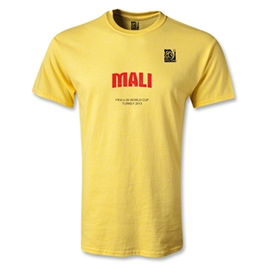 FIFA U-20 World Cup 2013 Mali T-Shirt (Yellow)