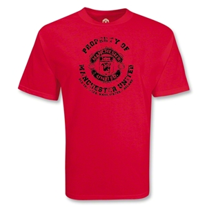 Manchester United Propery Soccer T-Shirt (Red)