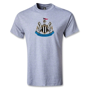 Newcastle United Crest T-Shirt (Gray)