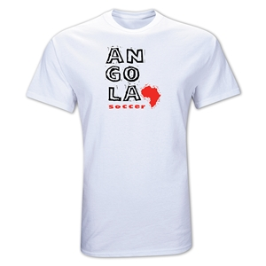 Angola Country T-Shirt (White)