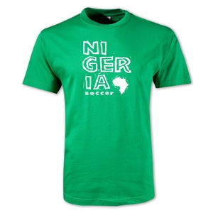 Nigeria Country T-Shirt (Green)