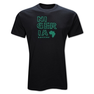 Nigeria Country T-Shirt (Black)