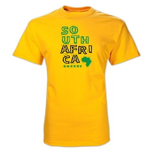 South Africa Country T-Shirt (Yellow)