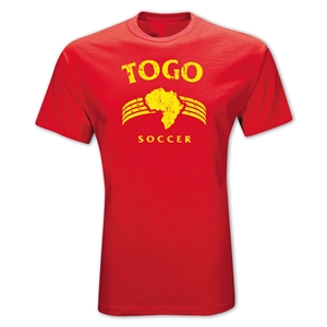 Togo Country T-Shirt (Red)