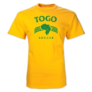 Togo Country T-Shirt (Yellow)