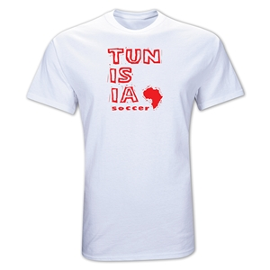 Tunisia Country T-Shirt (White)