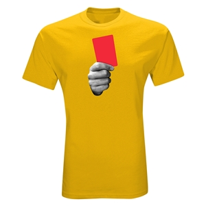 Red Card Graphic T-Shirt (Yellow)