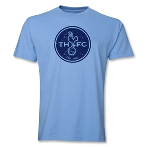 Tottenham Distressed Logo T-Shirt (Sky Blue)