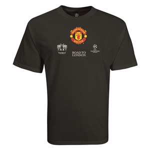 Manchester United Road to London T-Shirt (Black)