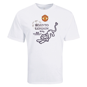 Manchester United Road to London Lion T-Shirt (White)