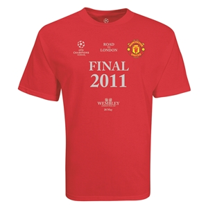 Manchester United 2011 Champions League Final T-Shirt (Red)