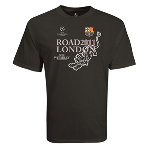 Barcelona 2011 Road to London T-Shirt (Black)