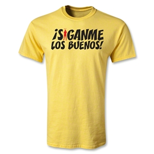 Chapulin Los Buenos T-Shirt (Yellow)