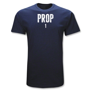Prop 1 Position Rugby T-Shirt (Navy)