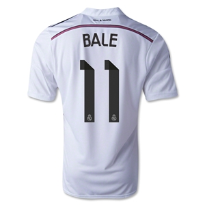 Real Madrid 14/15 BALE Home Soccer Jersey