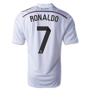 Real Madrid 14/15 RONALDO Home Soccer Jersey