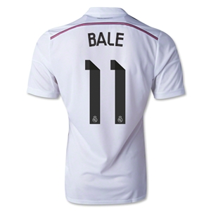 Real Madrid 14/15 BALE Authentic Home Soccer Jersey