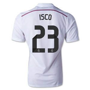 Real Madrid 14/15 ISCO Authentic Home Soccer Jersey