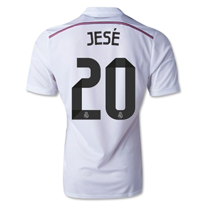 Real Madrid 14/15 JESE Authentic Home Soccer Jersey