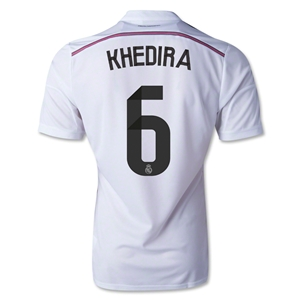 Real Madrid 14/15 KHEDIRA Authentic Home Soccer Jersey