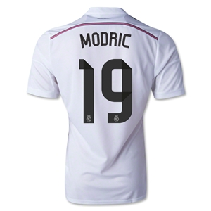 Real Madrid 14/15 MODRIC Authentic Home Soccer Jersey