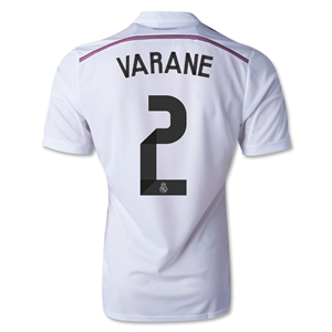 Real Madrid 14/15 VARANE Authentic Home Soccer Jersey