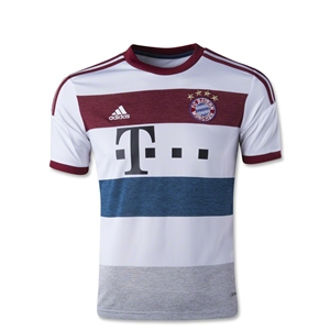 Bayern Munich 14/15 Youth Away Soccer Jersey
