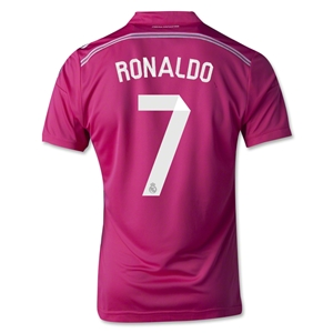Real Madrid 14/15 RONALDO Youth Away Soccer Jersey