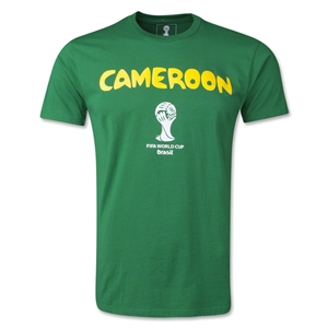 Cameroon 2014 FIFA World Cup T-Shirt (Green)