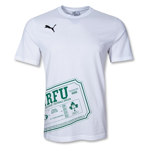 Ireland Rugby Ticket T-Shirt (White)