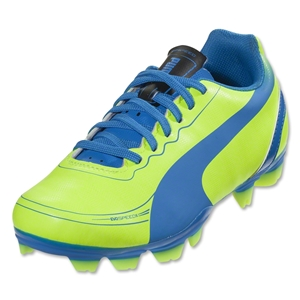 PUMA evoSPEED 5.2 FG Junior (Fluo Yellow)