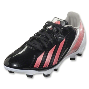 adidas Women's F10 TRX FG (Black/Red Zest/Metallic Silver)