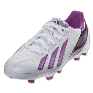 adidas Women's F30 TRX FG Leather (Running White/Vivid Pink)