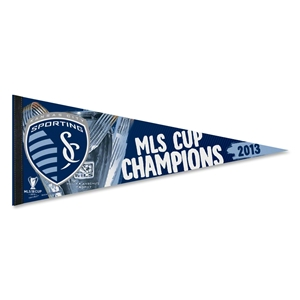 Sporting KC 2013 MLS Cup Winner Pennant (12x30)