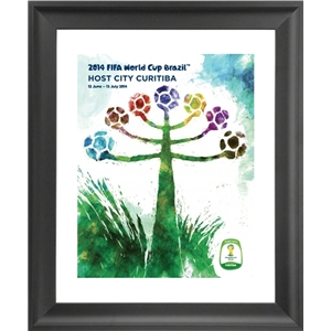 Curitiba 2014 FIFA World Cup Host City Framed Print