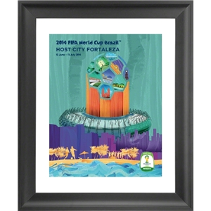 Fortaleza 2014 FIFA World Cup Host City Framed Print