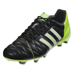 adidas 11Pro SL TRX FG miCoach compatible (Black/Running White/Solar Slime)
