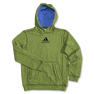 adidas Youth Ultimate Fleece Hoody (Green)