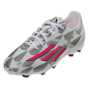 adidas Women's F10 TRX FG (Core White/Solar Pink/Frost Blue)