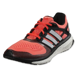 adidas Energy Boost 2 ESM Running Shoe (Solar Red/Core White/Black)